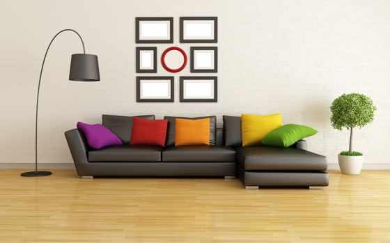 диван, интерьер, графика