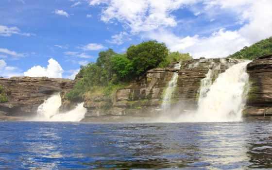 canaima, park, national, venezuela, stock, водопад, nationalpark, photos, images, природа,