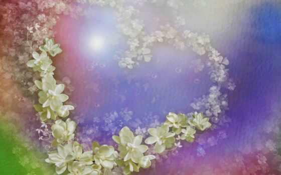 лепестки, картинка, petals, cvety, сердце, free, desktop, изображение,