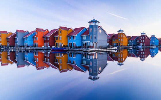 гронинген, город, shutterstock, нидерланды, holland, photos, images, stock, отражения,