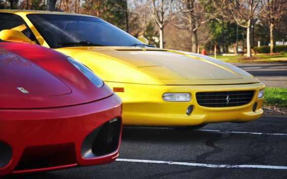 ferrari, cars, supercars, california, красная, фото, art,