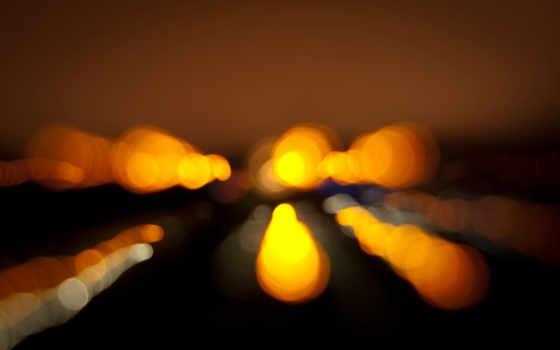 огни, ночь