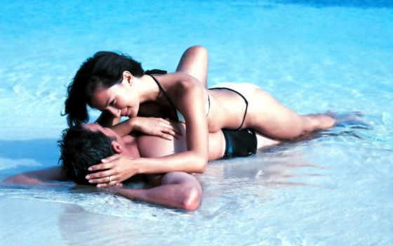 поцелуй, любовь