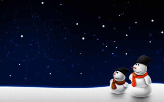 снеговики, christmas