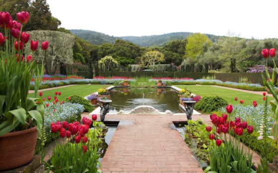 bodnant, garden, gardens
