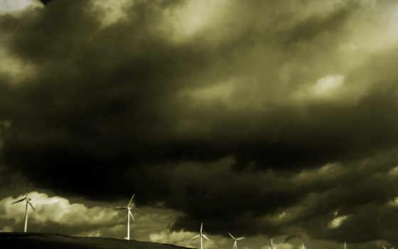 scene, free, dimension, природа, буря