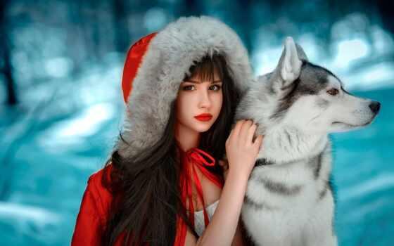 pesnya, devushka, shanson, красивый, kachestvennyi, волк, капюшон, февраль, джинсы, стена, книга