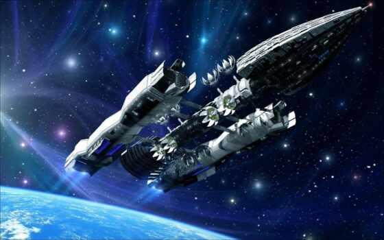 cosmic, корабль, fantastic, презентация, космос, звездолёт, красивый, management, land, спутник, planet
