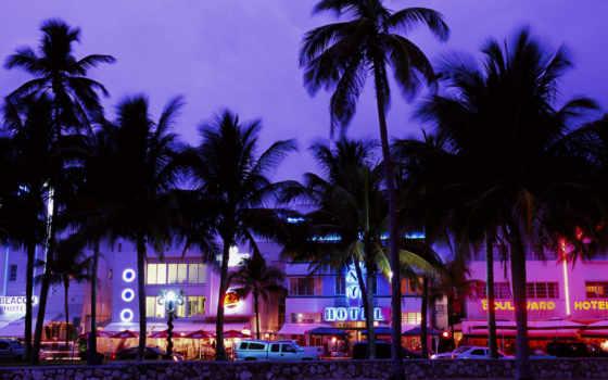 miami, пляж, площадь, art, деко,