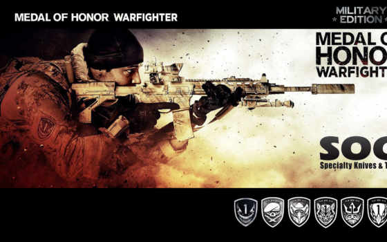 medal, honor, warfighter, дек, game,