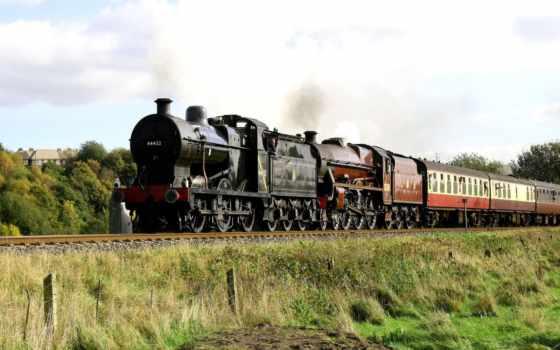 trains, desktop, паровозов, старых, качество, best, widescreen,
