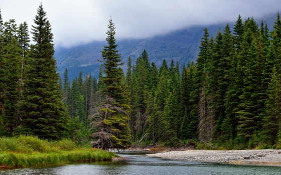 природа, река, ёль, картинка, kootenai, добавить, испания, toledo, лес, горы, reki,