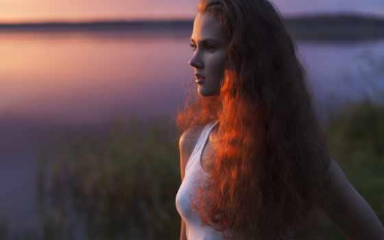 anastasia, alcatel, закат, intimemusic, девушка, волосы, есть, поле, от, картинка,