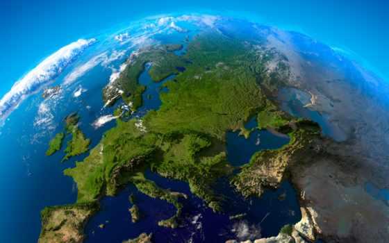 европы, land, cosmos, planet, космоса, european, европу, взгляд, спутника,