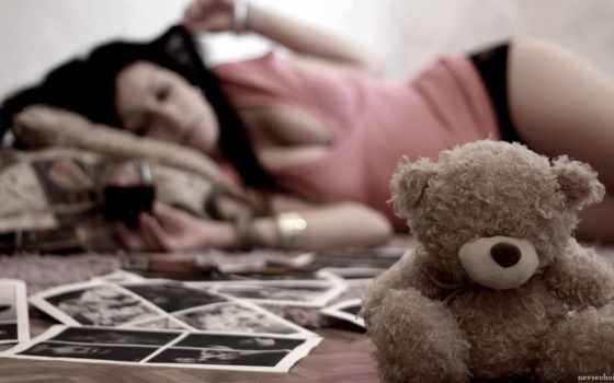 мишка, девушка, toy, медведь, игрушки, white, фоны,