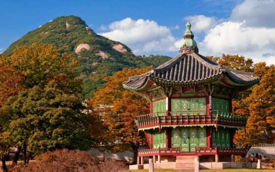korean, дворец, южная, новости, procryptor, korea, природа, architecture, hill,