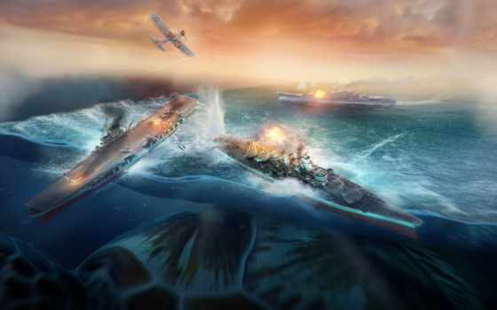 world, warships, canvas, стены, книги, искусству, warcraft, ultra, современные,