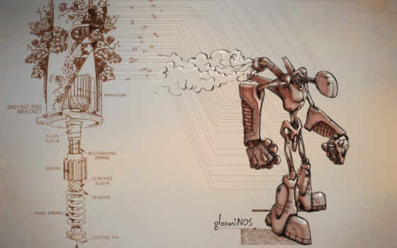 механизм, робот