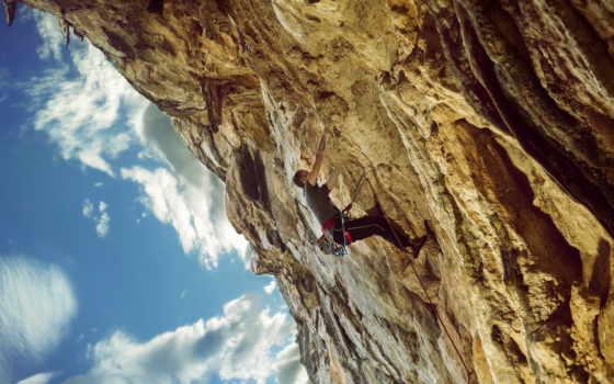 heart, montañas, escalando