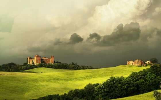 tuscany, красивые, italy