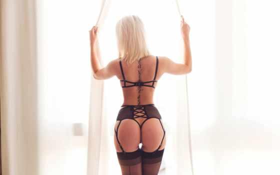 lingerie, эротический, blonde