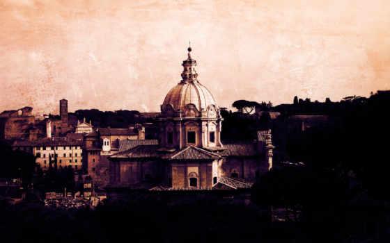 italy, рим, здания