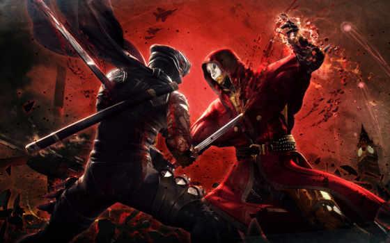 ninja, gaiden, насилие