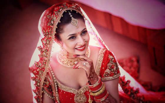 divyanka, tripathi, свадебный, vivek, dahiya, lehenga, июл, невеста, her,
