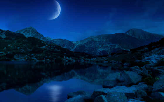 windows, microsoft, панорамный, тема, nighttime, desktop, nightfall,