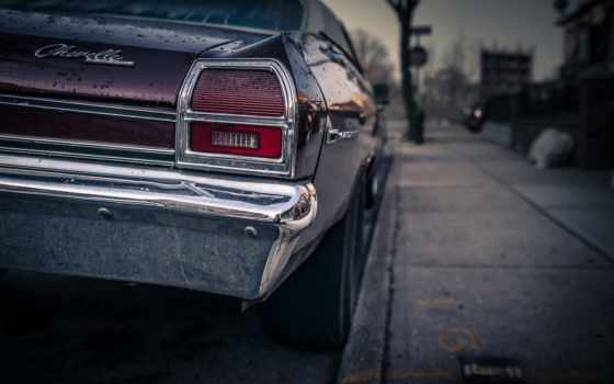cars, американский, chevelle, chevrolet, car, parede,