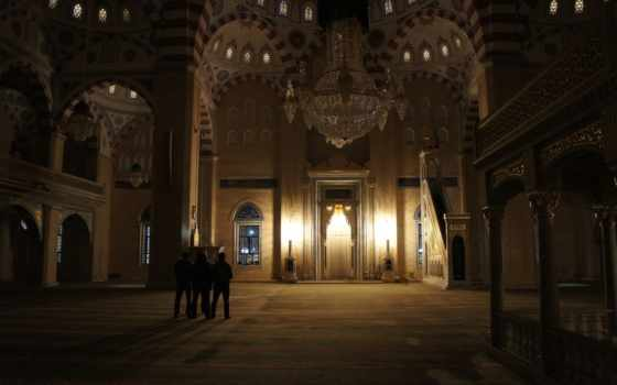 грозный, mosque, чечня, сердце, чечни, hall, интерьер, столы, hotel, стулья,