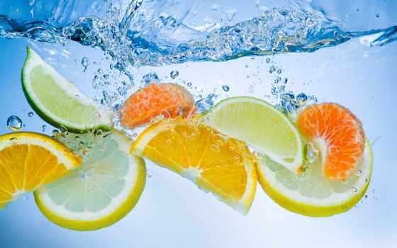 фрукты, еда, апельсины, ягода, cherry, ягоды, juice, яблоки, макро, дольками,