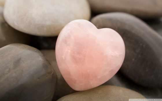 сердце-камушек