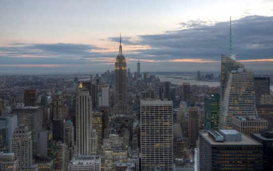 new, york, город Фон № 81166 разрешение 1920x1200