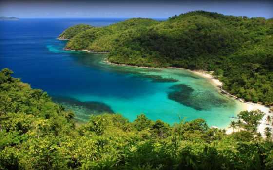 philippines, bay, природа, palawan, пролив, черепаха, tropics, bays, горы,