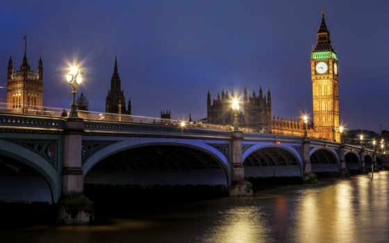 биг, бен, london, англия, великобритания, westminster, дворец, great, биг,