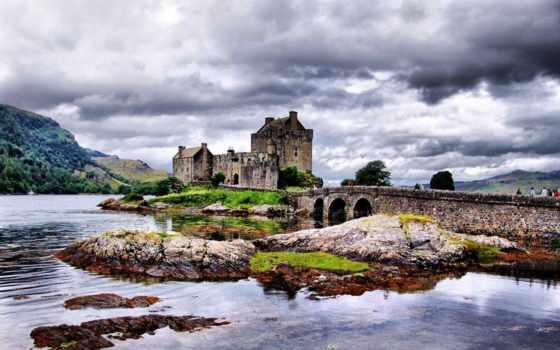 донан, eilean, castle, шотландия, you,