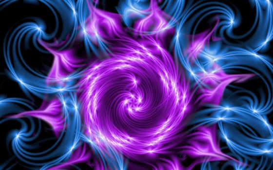 фиолетовый, фрактал