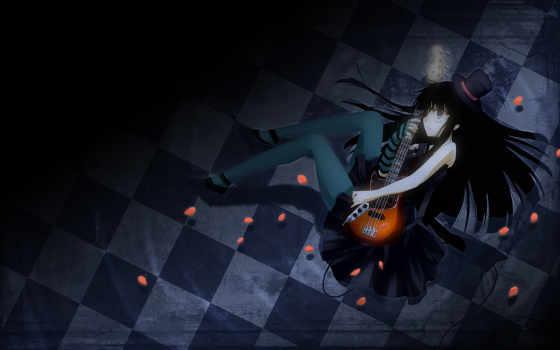 anime, widescreen, manga, картинку, guitar, mioakiyamawallpaper, мио, mio, download, desktop,