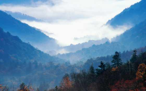 природа, great, mountains