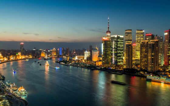 shanghai, china, huangpu Фон № 111483 разрешение 1920x1080