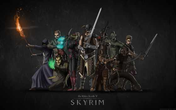 skyrim, scrolls, elder, скайрим, имперец, nord, tes, каджит,