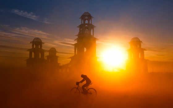 sandstorm, пустыня, песок, буря, пыль, пляж,