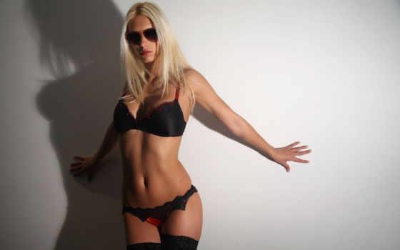 очках, blonde, очки, девушка, devushki, темных, солнечных,
