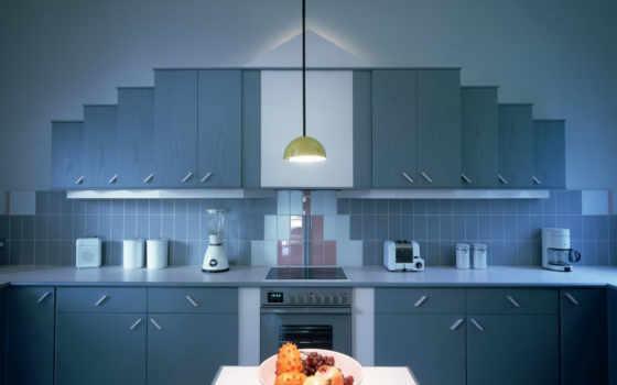 kitchen, синяя, кухни