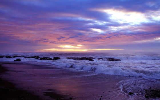 spiaggia, красивые, onde, количество, природа, природой, нежной, яркие, неповторимой, mare,