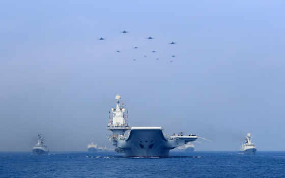 china, вмф, naval, парад, пла, south, китаянка, celebrate, море, anniversary