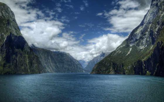 горы, озера