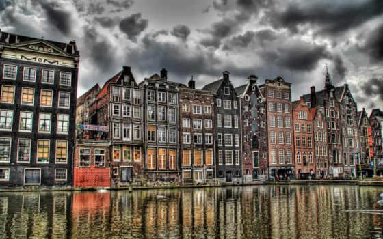 amsterdam, нидерланды, природа