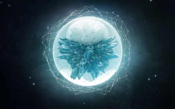 абстракция, космос, фигуры, абстракции, геометрия, шар, сфера, звезды,